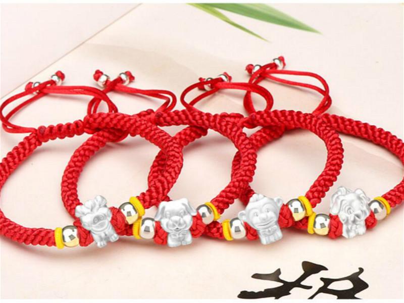 Sweatband//Wristband//Pulse Band Motif China symbols in Black//Red//New