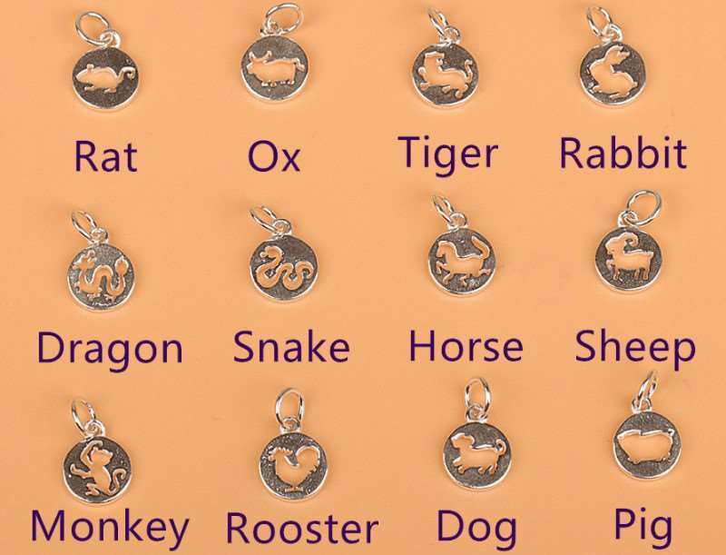 Fine Necklaces & Pendants Sterling Silver Chinese Zodiac Ox Sign